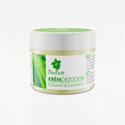 Citromfű-Levendula natúr krémdezodor (50 ml)