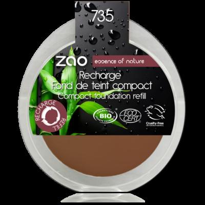 bio kompakt alapozó 735 chocolate utántöltő