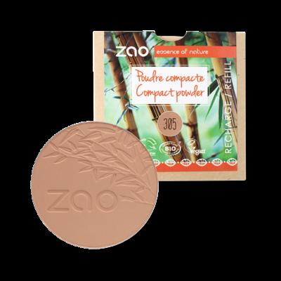 bio kompakt púder 305 milk chocolate utántöltő