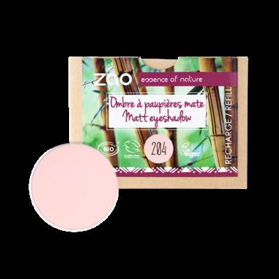 Bio matt szemhéjpúder 204 golden old pink utántöltő