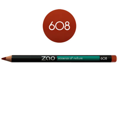 608 orange brown
