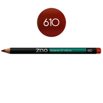 Bio kontúrceruza 610 red copper