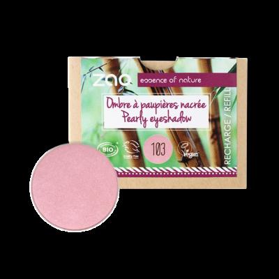 bio gyöngyház szemhéjpúder 103 pearly old pink utántöltő