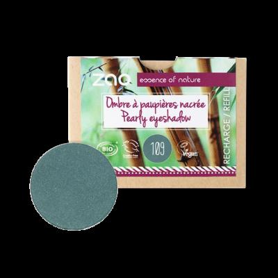 bio gyöngyház szemhéjpúder 109 pearly turquoise utántöltő