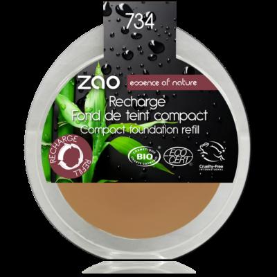 ZAO bio kompakt alapozó 734 utántöltő