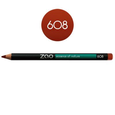 608 orange brown